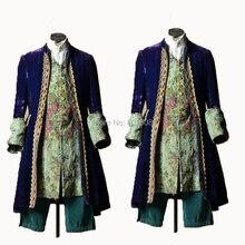 По индивидуальному заказу! Красная куртка, 1 шт., мужское винтажное пальто, костюмы, мужские Корт, одежда, викторианский стиль, для сцены, мужские костюмы, N-013