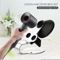 Wall Hair Dryer Rack Space Aluminum Bathroom Accessories for Dyson Supersonic Magnetic Hair Dryer Wall Holder Shelf Storage