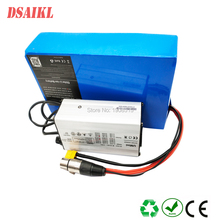 цена на Free shipping customs 48volt lithium battery pack 48V 18Ah 20Ah 22Ah 24Ah 25Ah with charger for 750W 1000W electric bike