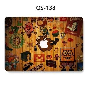 Image 2 - 맥북 에어 프로 레티 나 11 12 13.3 15.4 인치 노트북 맥북 케이스 노트북 슬리브 스크린 프로텍터 키보드 코브