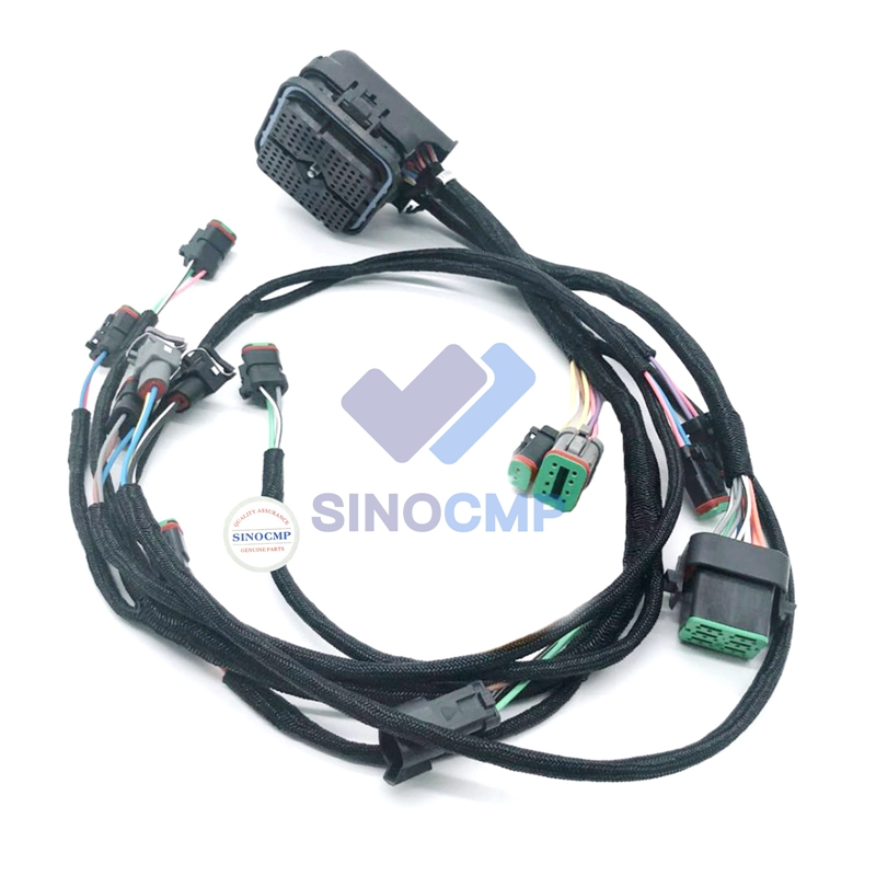 E330D 336D C9 Engine Wiring Harness 235-8202 Excavator Wire Cable, 3 month warrantyE330D 336D C9 Engine Wiring Harness 235-8202 Excavator Wire Cable, 3 month warranty