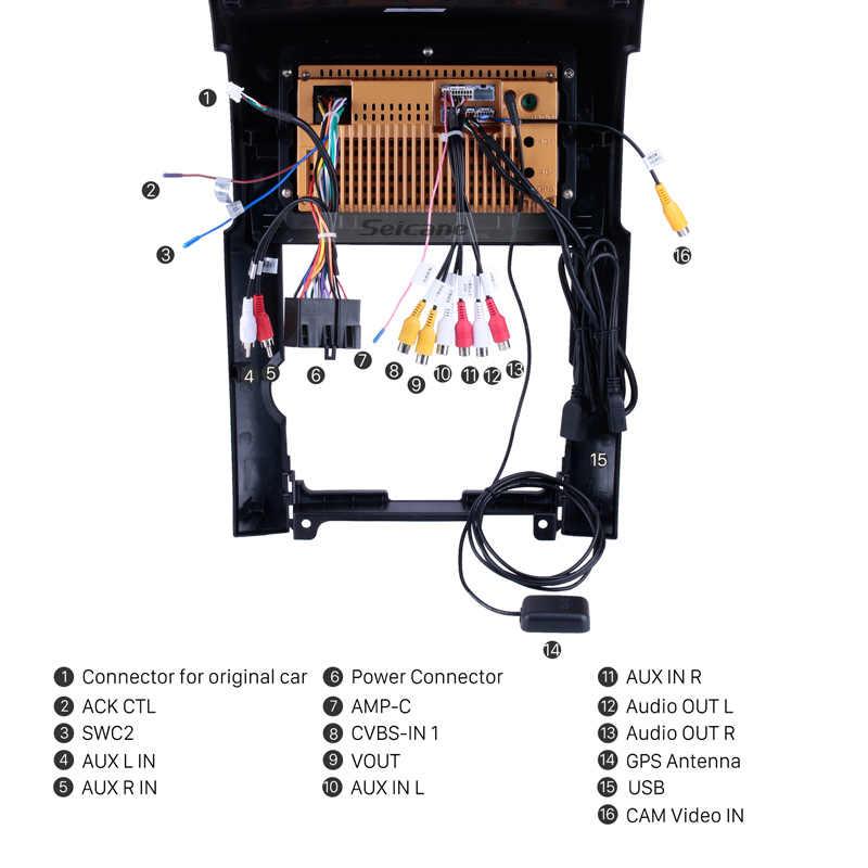 "Seicane 2din أندرويد 8.1 10.1 ""رباعية النواة HD 1024*600 سيارة نظام صوت للتنقل باستخدام جهاز تحديد المواقع ل 2009 2010 2011 2012 كيا سورينتو دعم TPMS"
