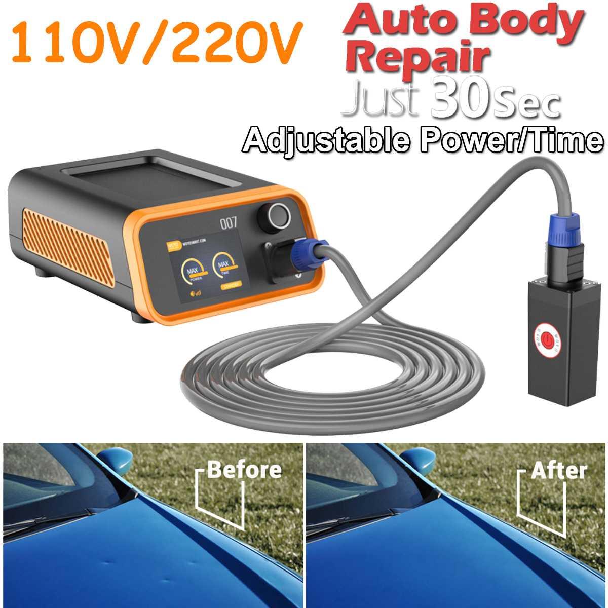 Soft Car Dent Repair Remover Heat Induction System Machine Electro-magnetic Machine Led Light Debosselage Sans Peinture