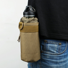Outdoor Tactical Military Molle Water Bottle Bag Kettle Pouch Holder Bag -3 Colors Sports Accessories Safety Harness outdoor tactical military water bottle bag kettle pouch holder carrier