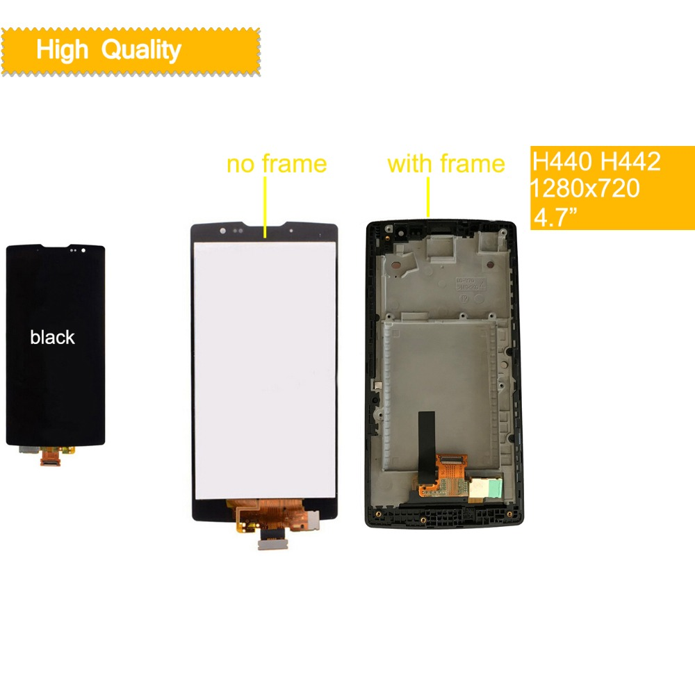 10Pcs lot 3G 4G LTE for LG Spirit LCD Display H440 H442 LCD Touch Screen H422 H440N C70 for LG Spirit Display Replacement in Mobile Phone LCD Screens from Cellphones Telecommunications