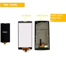 10Pcs/lot 3G 4G LTE for LG Spirit LCD Display H440 H442 Touch Screen H422 H440N C70 Replacement