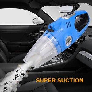 Image 2 - Windek odkurzacz samochodowy 12 V przenośny + Auto elektryczne sprężarki powietrza cyfrowa pompka do opon pompa do opon