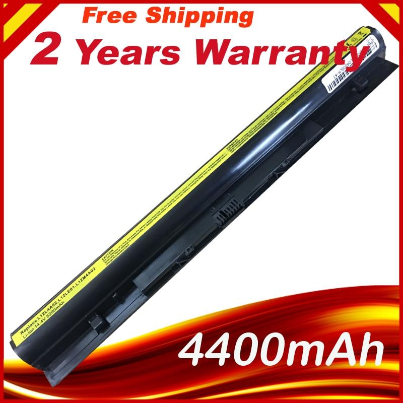 4400mAh Puls Laptop Battery L12L4A02 L12L4E01 L12M4A02 L12M4E01 L12S4A02 L12S4E01 For Lenovo G400s Series G405s G410s G500s