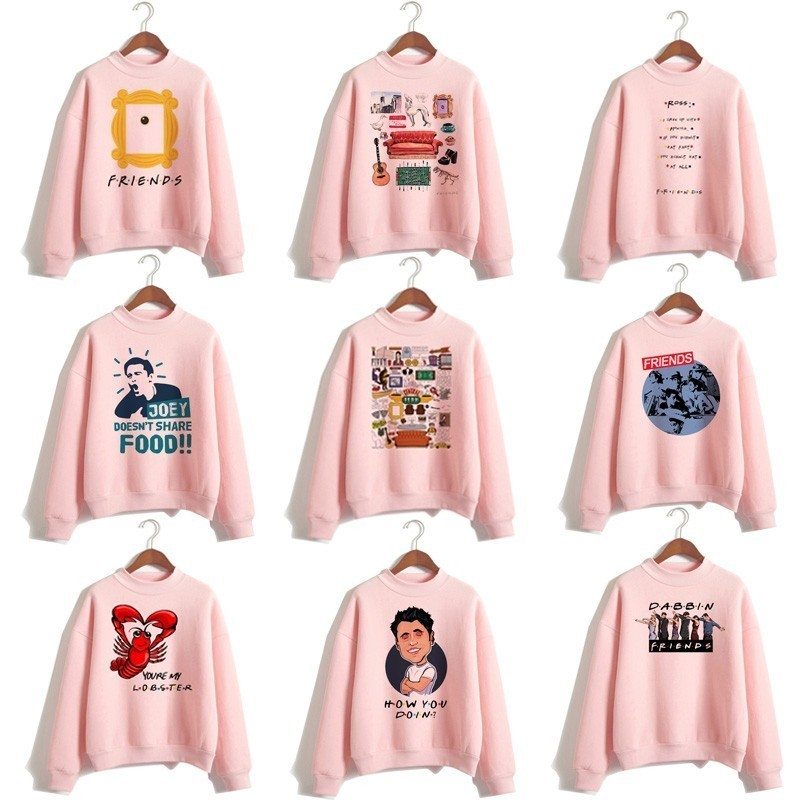 New Friends Tv Hoodie Woman Sweatshirts Women Clothing Streetwear Tv Shows Harajuku Turtleneck Tops Pullover Hooded For Female