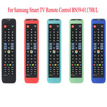 Protective Silicone Remote Controls Case For Samsung Smart TV Remote Control BN59-01178R/L Cover Remote Control Case(China)