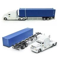1:43 Container Truck Container Lorry Alloy Car Model Toys
