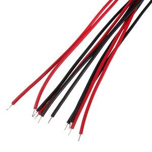Image 5 - Super Helle 5 stücke 20cm 10mm Pre Wired LED Lampe Glühbirne Emitting Diode 5 Farben Hervorragende Qualität DC12V