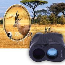 Telémetro láser de 400M, 600M, 900M, medidor de velocidad de distancia, telescopio Monocular para caza, Golf, medida del telémetro