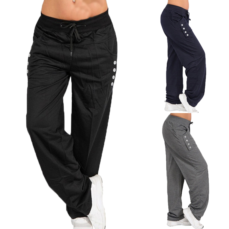 Fashion Men Sweatpants Casual Workout Joggers Solid Pockets Trousers Men Streetwear Bodybuilding Drawstring Male Track Pants 5XL