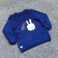 children Clothes baby Girl boys cotton Warm Pullovers plush inside sweaters girls Winter Autumn Knitted Loose jacket 3 24 Month