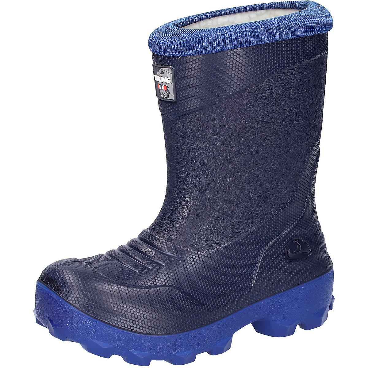 VIKING Boots 10261312 Winter Baby Boy shoes karinluna large size 34 43 add fur knee boots fashion winter shoes women lace round toe platform flat heels shoes woman