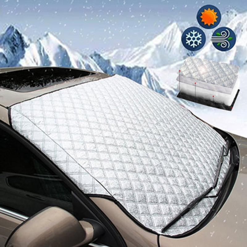 New Fashion Frost Shield Car Windscreen Cover Snow Ice Protection Winter Window Guard Screen