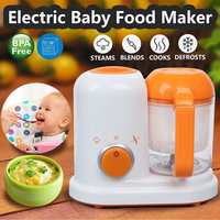 Electric Baby Food Maker AC 200 250V Toddler Blenders Steamer Processor BPA Free All In One Food Graded PP EU Steam Food Safe