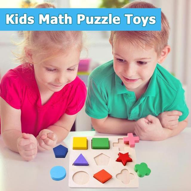 Shape Puzzles Learning Blocks