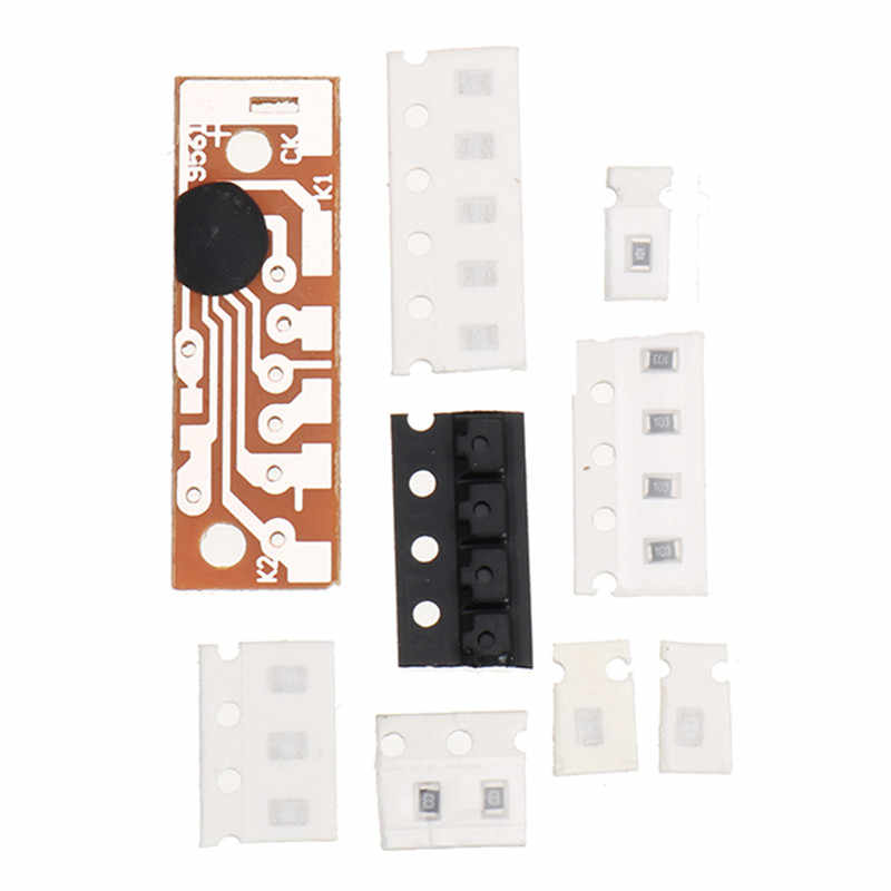 Kits de capteurs infrarouges pyroélectriques bricolage Circuit antivol technologie électronique ensembles d'entraînement panneau de FR-4 recto-verso 1.6mm