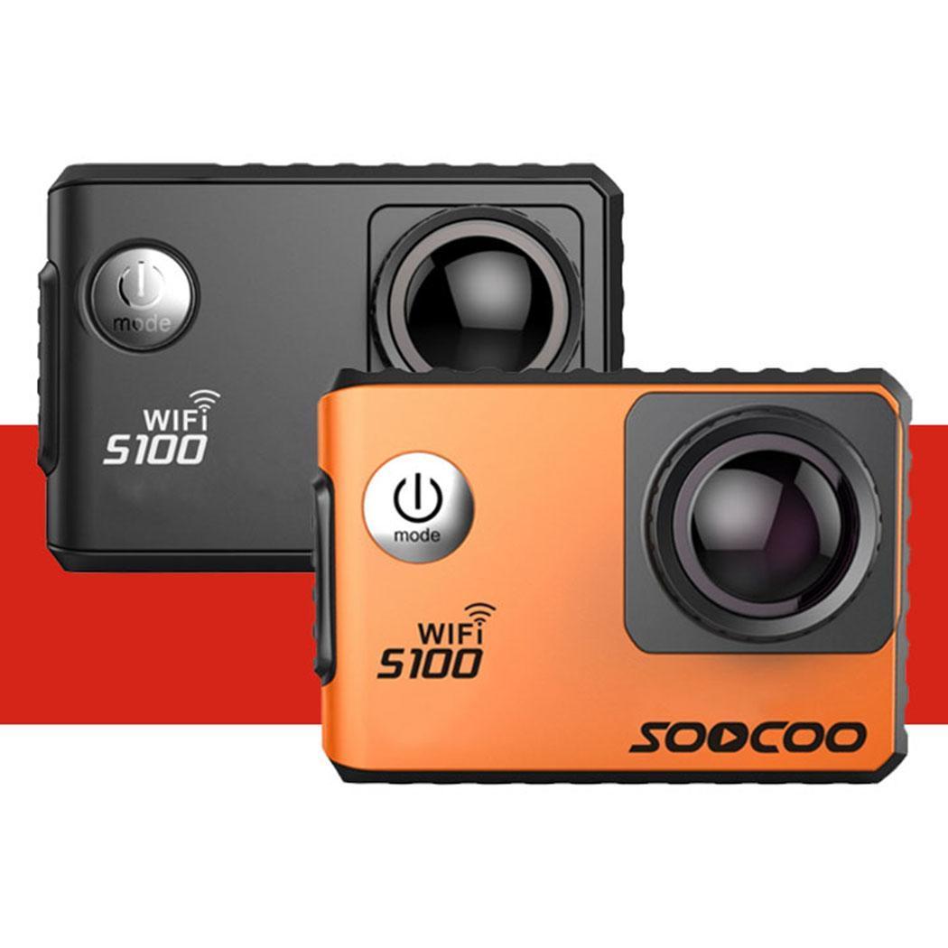 SOOCOO S100 Ir Pro 4K Action Camera 2.0 Tela Sensível Ao Toque de Controle de Voz Wi fi Cam Esportes Gyro Remoto 20MP pro ao ar livre Mini DV Esportes - 4