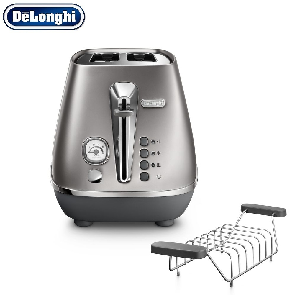 Toasters Delonghi CTI 2103.S home kitchen appliances cooking toaster fry bread to make toasts fry s moab is my washpot