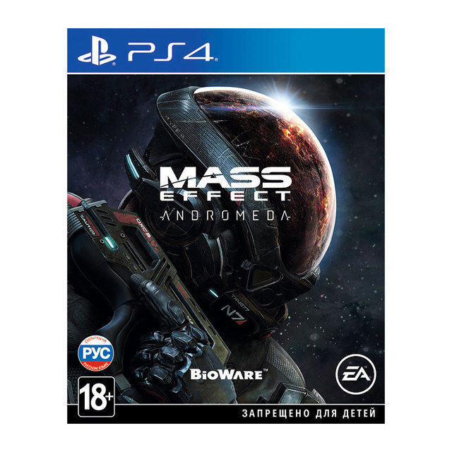 Игра для Sony PlayStation 4 Mass Effect: Andromeda, русские субтитры