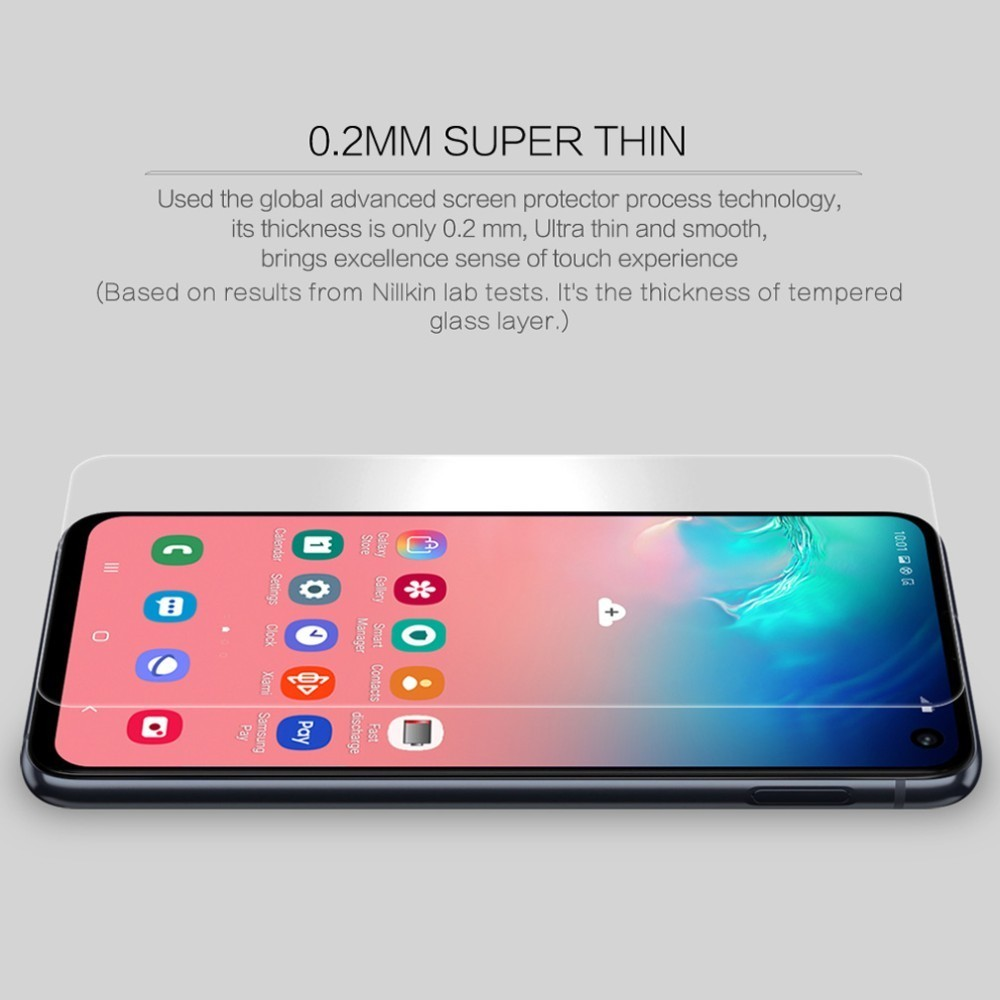 Image 5 - For Samsung Galaxy S10e Tempered Glass S10e Glass Nillkin Amazing H+Pro 9H 0.2mm 2.5D Glass For Samsung Galaxy S10e-in Phone Screen Protectors from Cellphones & Telecommunications