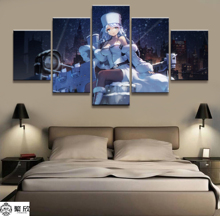 Home Decor Modular Canvas Picture 5 Piece Aphrora Cruiser Game Poster Painting Wall For Wholesale