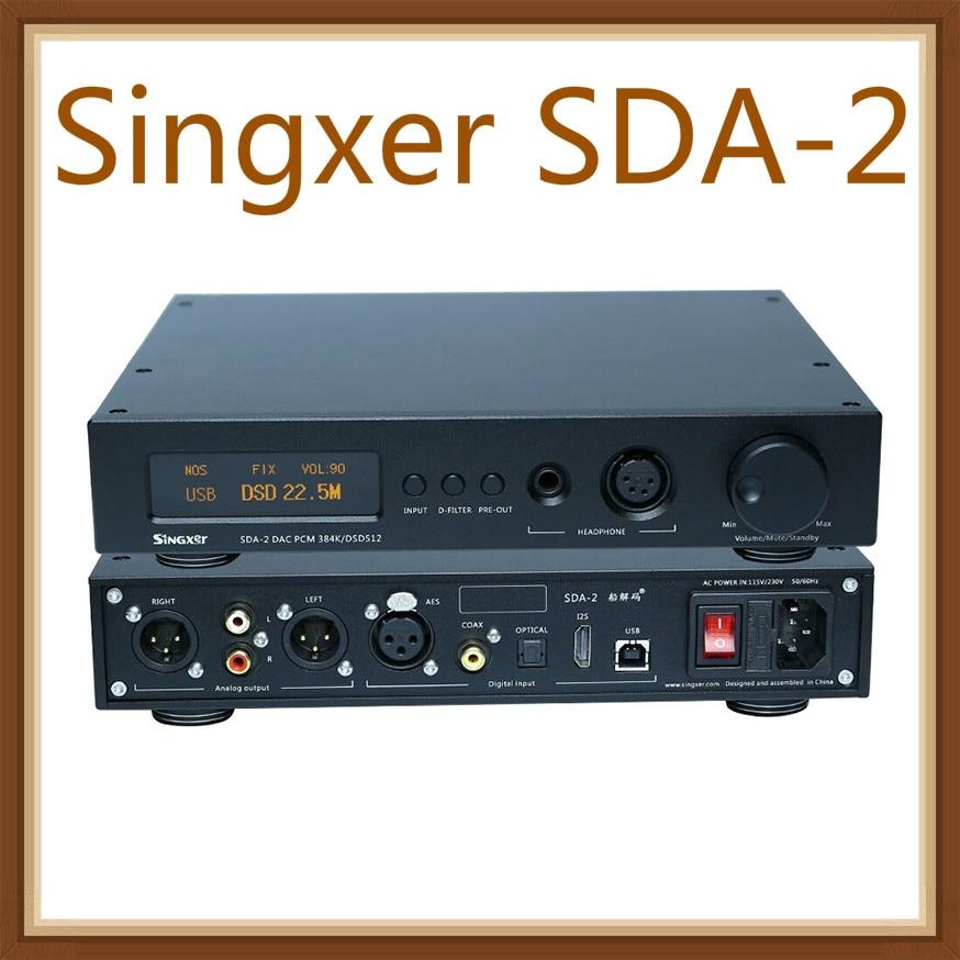 Singxer SDA-2 DAC NOS Native decoding DSD512, AK4497 Decoder Headphone Amplifier AMP DSD DACSingxer SDA-2 DAC NOS Native decoding DSD512, AK4497 Decoder Headphone Amplifier AMP DSD DAC
