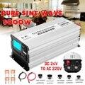 Onda senoidal pura inversor 2500 W 5000 W P eak 12 50Hz DC V/24 V/48 V a 110 V AC/220 V Transformador de Tensão Converte display LED Inverter