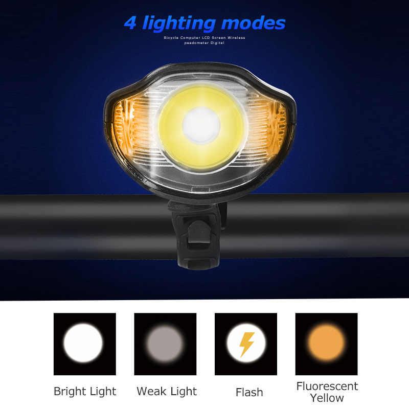 For Bicycle Head Light Front Handlebar Lamp Flashlight 3000LM Waterproof LEDKON