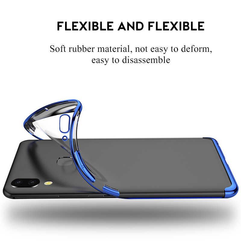 Ốp Lưng thời trang cao cấp Cho Samsung Galaxy A70 A50 A40S A30 A20 A10 S10 Plus Clear Coque Dành Cho Samsung M10 M20 m30 Trường Hợp Phụ Kiện