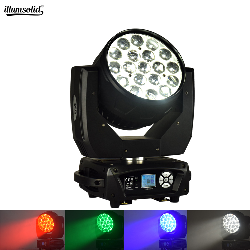 Wash 19x15w Bee Eye Beam Moving Head Zoom Stage Light Dj Lights Dmx512 For Disco Lamps