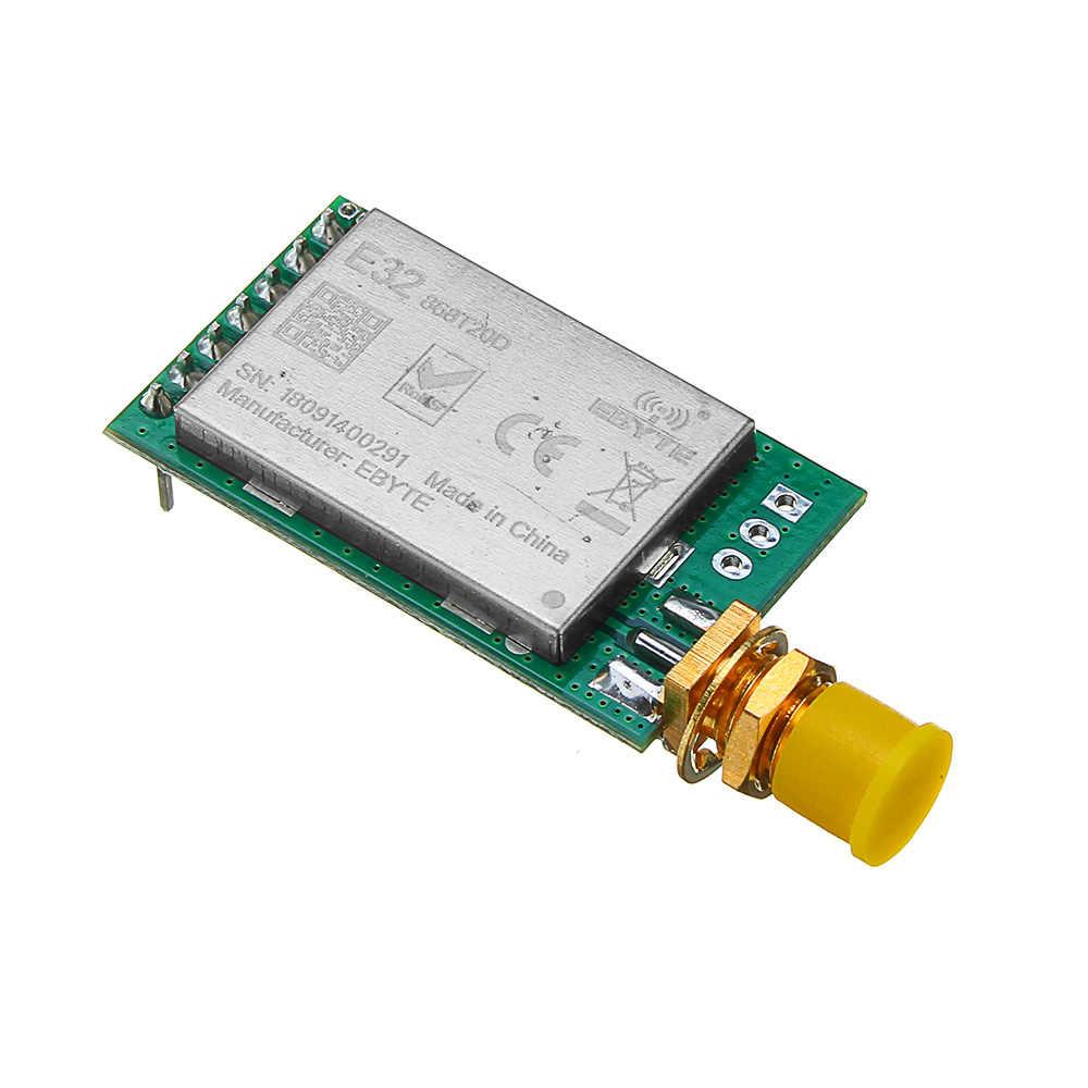 CLAITE 433 433mhz の Rf 送信受信機 8000 メートル UART 長距離 433 MHz 1 ワットワイヤレス rf トランシーバモジュール回路