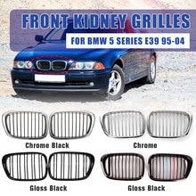 2 шт. автомобилей спереди Gloss М-цвет ноздри решетки для BMW E39 5 серии 525 528 530 540 M5 1997 1998 1999 2000 2001 2002 2003