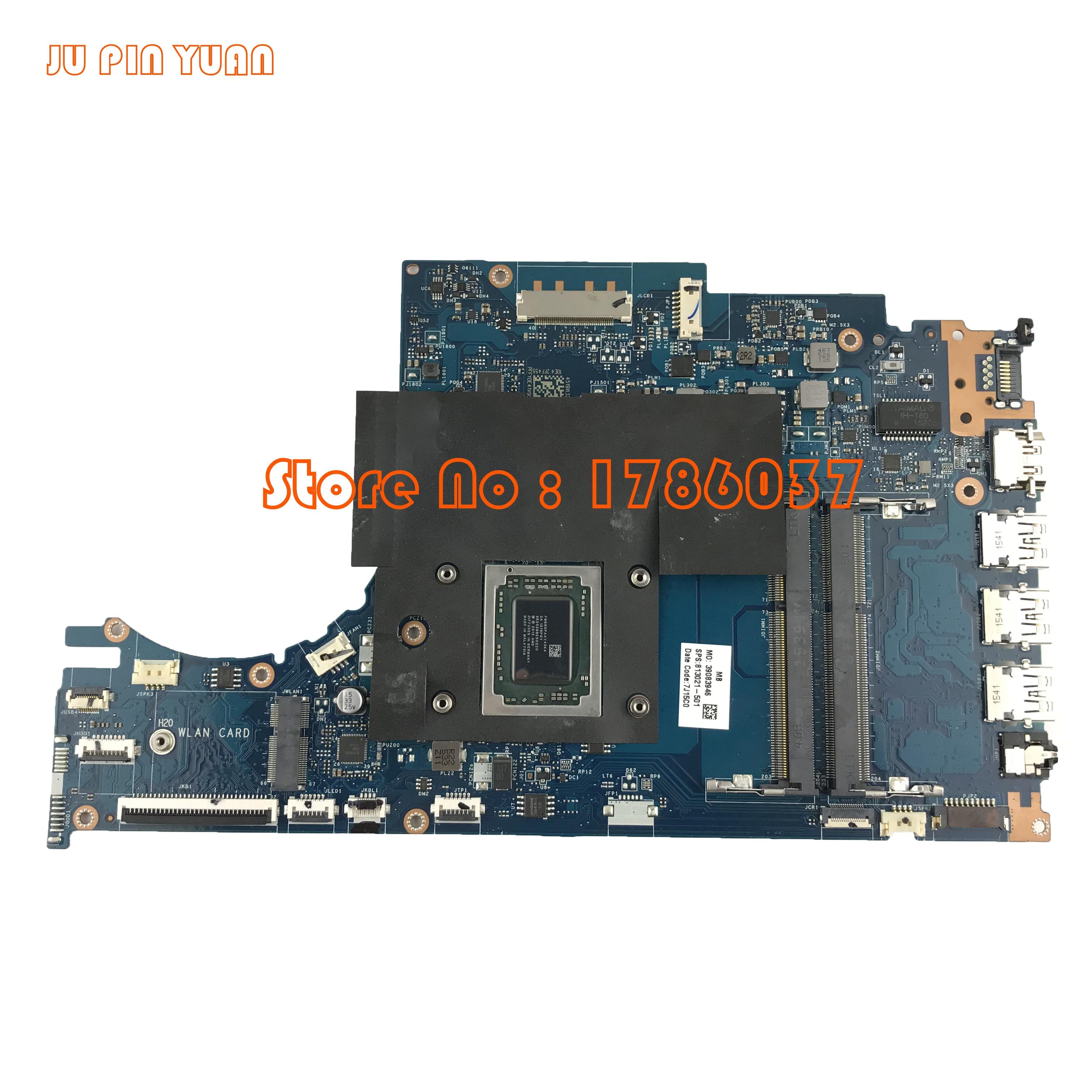 JU PIN YUAN 813021-601 813021-501 ACW51 LA-C502P для материнской платы HP ENVY 15Z-AH серии M6-P с FX-8800P Все полностью протестировано