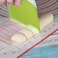 1 шт. тестовых и кондитерских изделий масло Ножи Пластик крем гладкая лопатка для приготовления торта выпечки нож для выпечки, для рубки теста резак Кухня гаджет