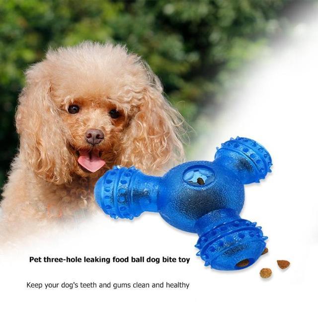 Rubber Feeder Ball for Dog 2
