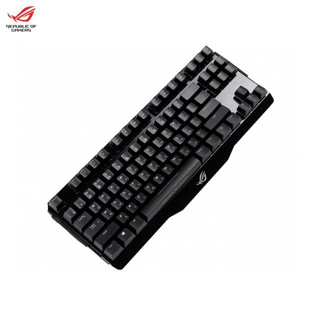 Компьютерная игровая Механическая RGB клавиатура с подсветкой ASUS ROG CLAYMORE CORE (cherry mx black| mx brown)