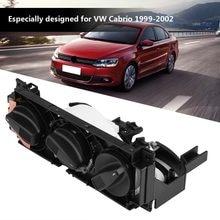 Interruptor de ar condicionado automotivo, controle do aquecedor para vw golf cabrio jetta mk3, ventoinha euro 1h0820045d, instalação de ar condicionado
