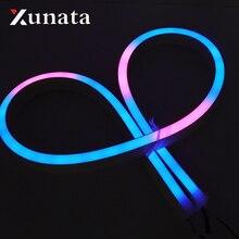 5V 12V SK6812 Volle Farbe Einzeln Adressierbaren LED Streifen Licht WS2811 Wasserdichte 5050 RGB Neon Zeichen Seil Band lampe Beleuchtung