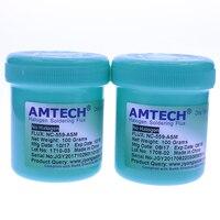 100% оригинал AMTECH NC-559-ASM BGA PCB без очистки паяльной пасты сварки Advanced масла Flux смазка 100 пайки Ремонт Инструменты C0011