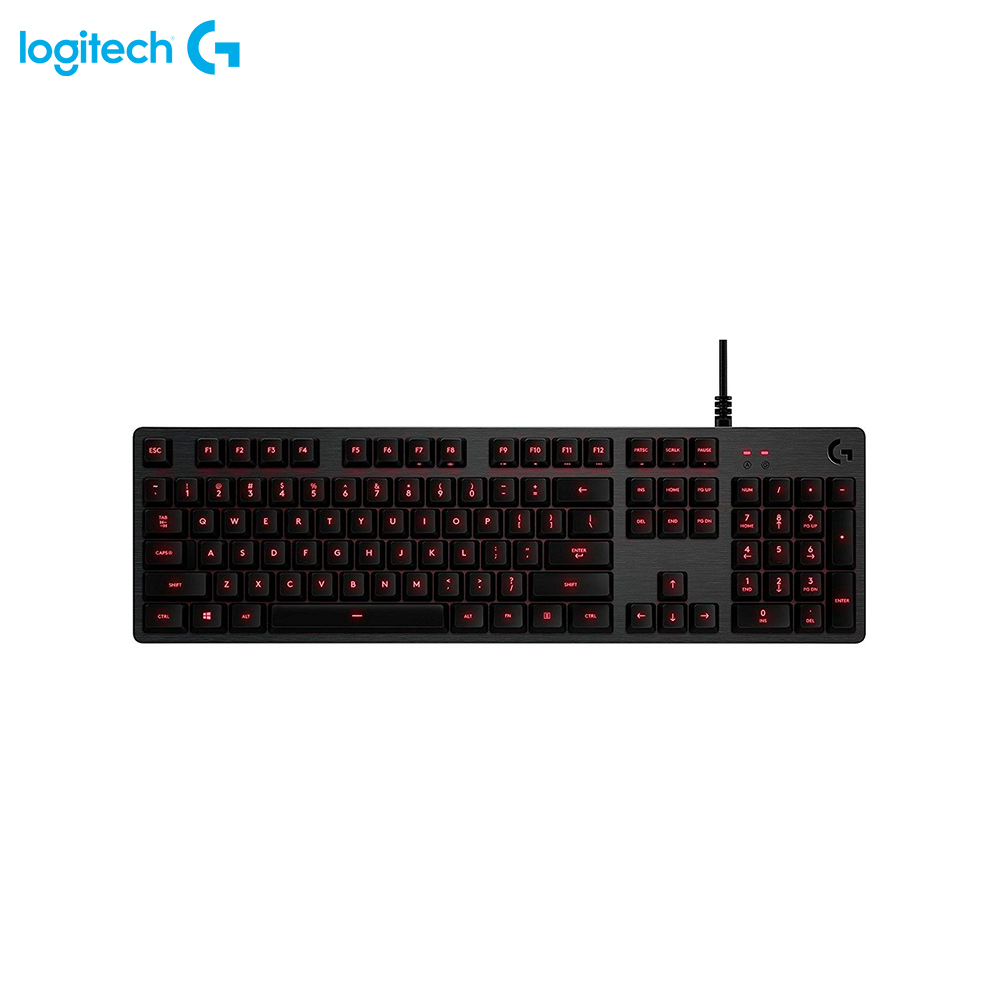 Keyboards Logitech G413 Carbon 920-008309 gaming wireless wired backlit Keyboard Computer Peripherals Mice 2 4g wireless roll up flexible computer silicone keyboard blue