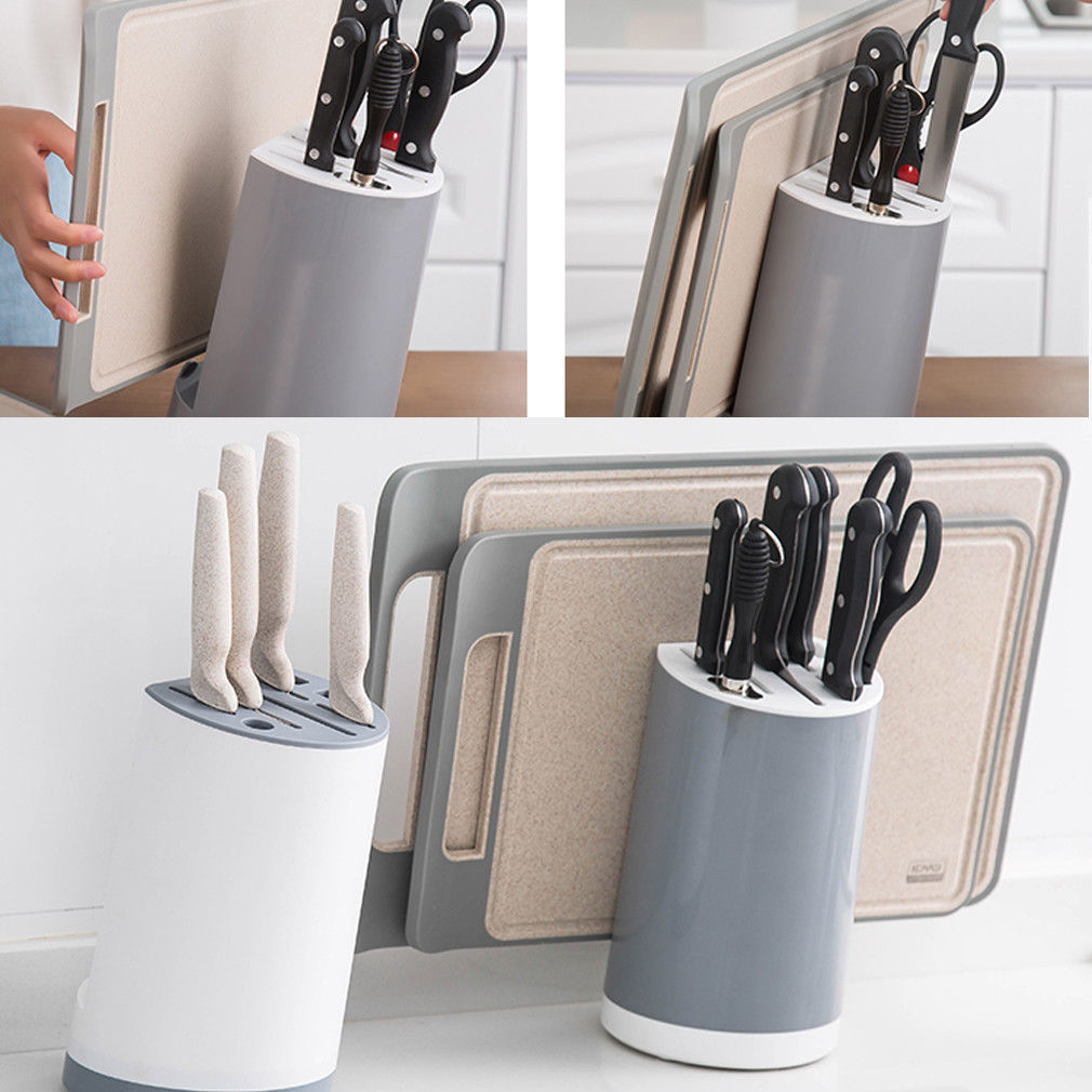 Magnetic Knife Utensil Tool Holder Wall Mount Kitchen Rack Storage Pub Bar Block Kitchen Knife Rack