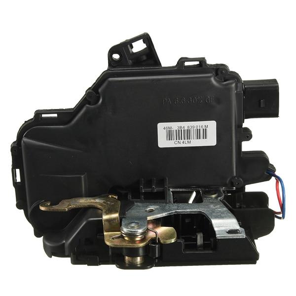 Rear Right Door Lock Mechanism For VW /GOLF /BORA /LUPO /PASSAT B5 MK4 /SEAT /Skoda 3B4839016A