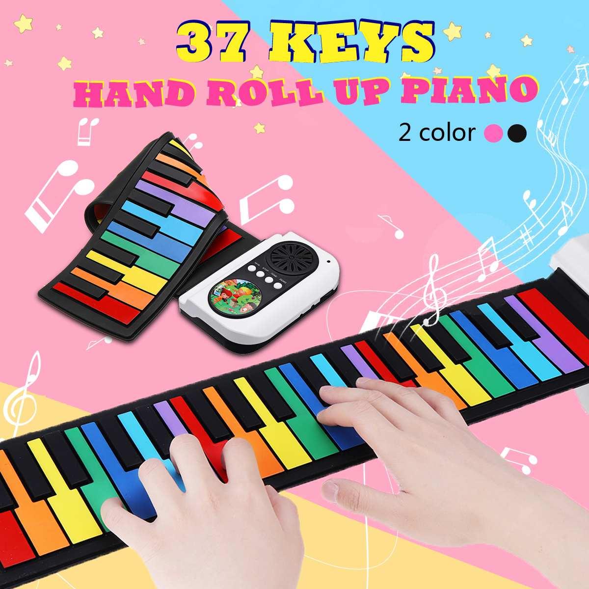 37 touches 8 tons retroussable Piano USB MIDI clavier MIDI Conctroller main électronique Piano