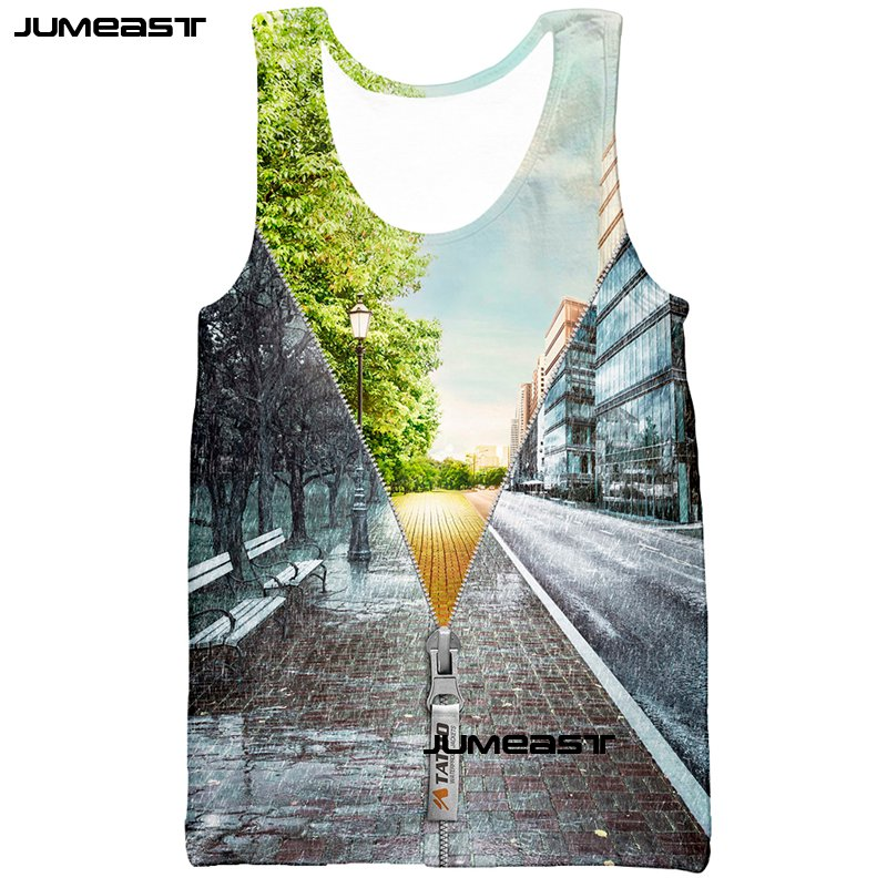 Jumeast Funny Drinks Cup 3d Print Men/Women Tank Tops Cool Boxing Glove Casual Tee Sleeveless Unisex Vest Spring Winter Scenery