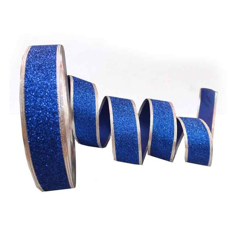 10 ロールギフト包装クラフトリボン毛の弓装飾パーティーリボンベビーシャワーのための記念卒業クリスマス