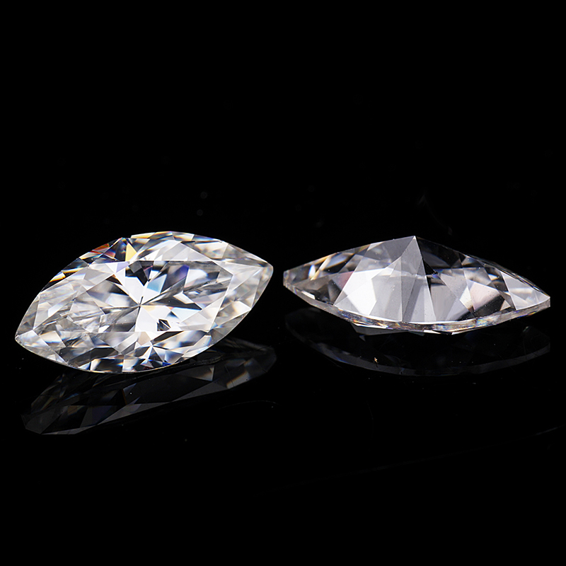 4 8mm marquise cut VVS Moissanite Moissanite Stone Loose Moissanite Diamond 0 48 catart Moissanite in Loose Diamonds Gemstones from Jewelry Accessories